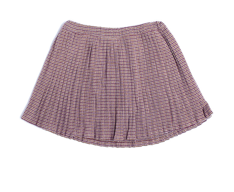 Zef pleated skirt