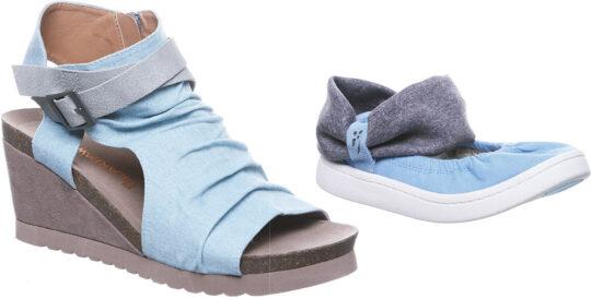 Bearpaw women's wedge and kids' shoe