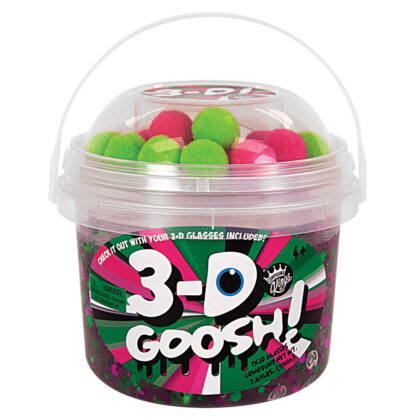 Compound Kings 3-D Goosh - Slime that comes to life with 3-D glasses.