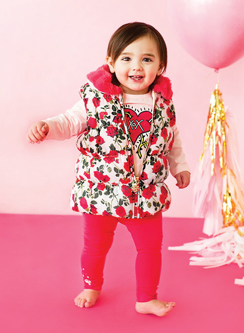 "Exclusive Babies ""R"" Us children's collection by Betsey Johnson"