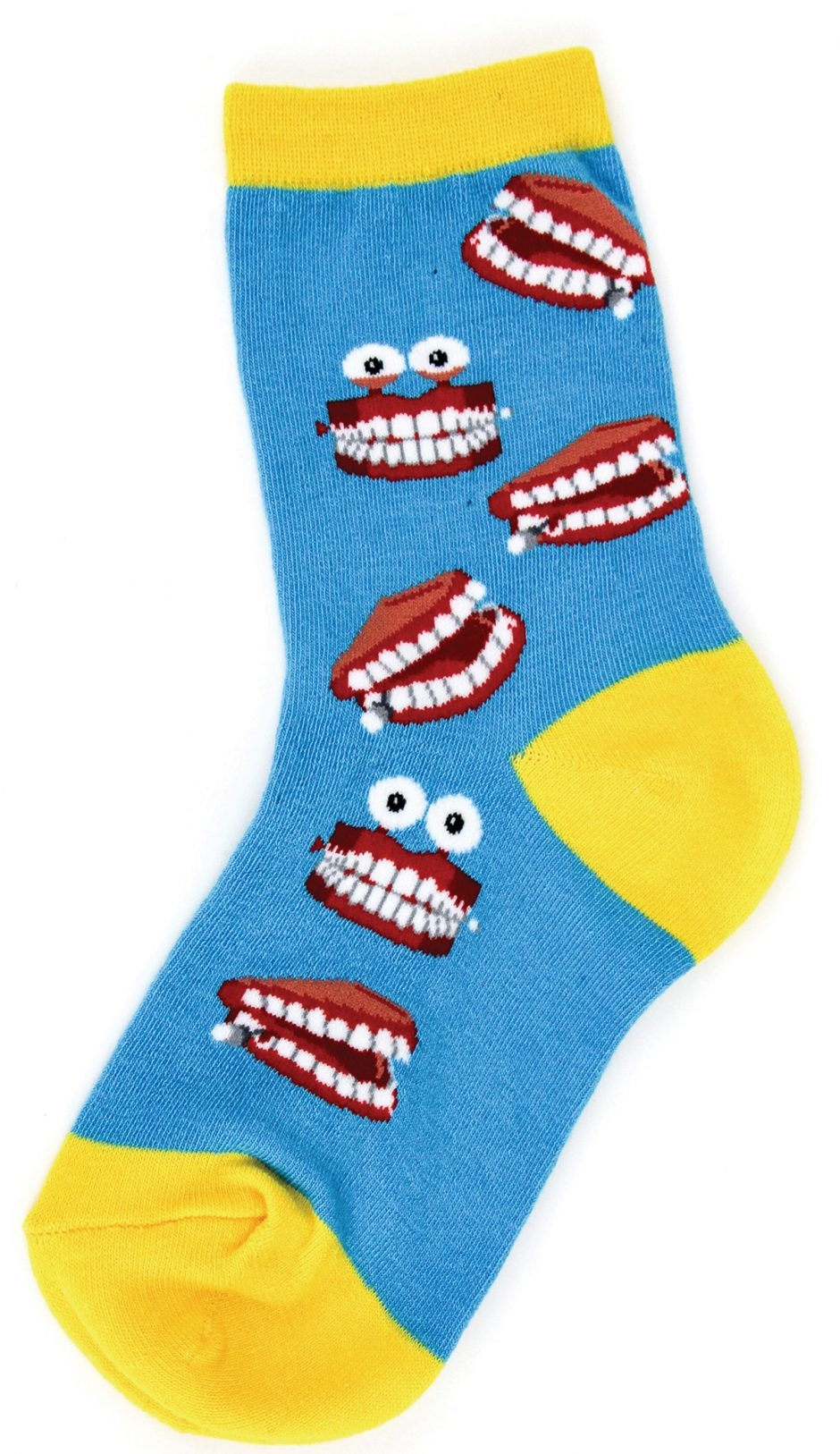 Foot Traffic chattering  teeth sock