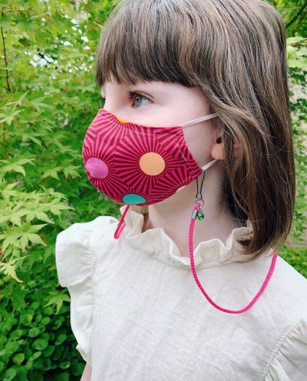 Gunner & Lux beaded mask chain