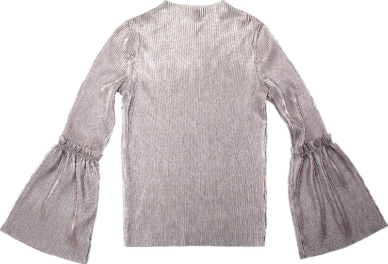 Habitual Girl bell-sleeve top