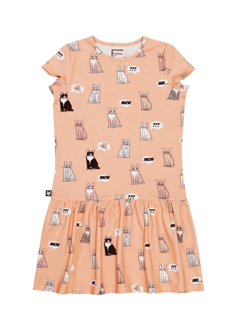 Hebe cat dress
