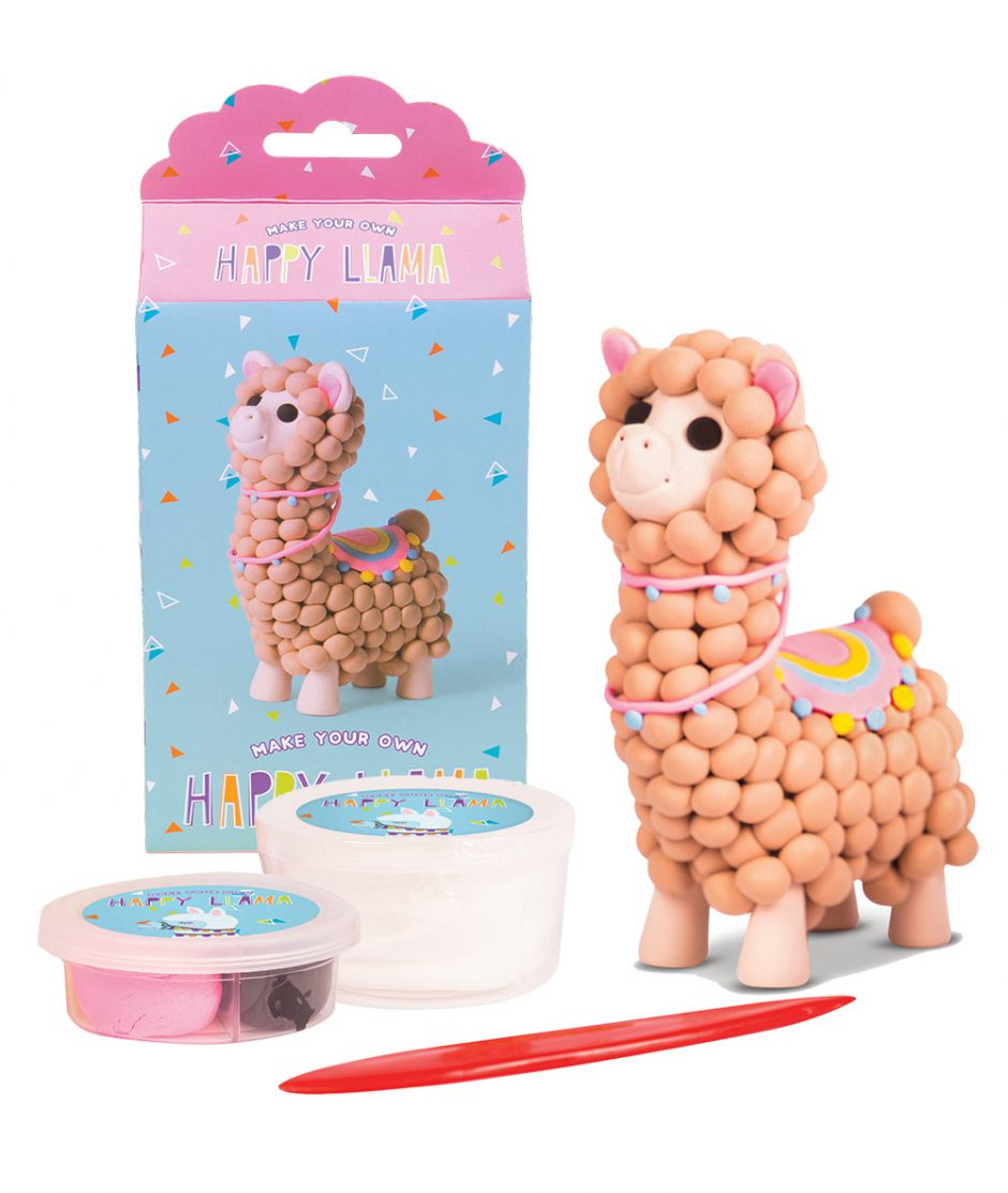 Iscream llama clay DIY kit