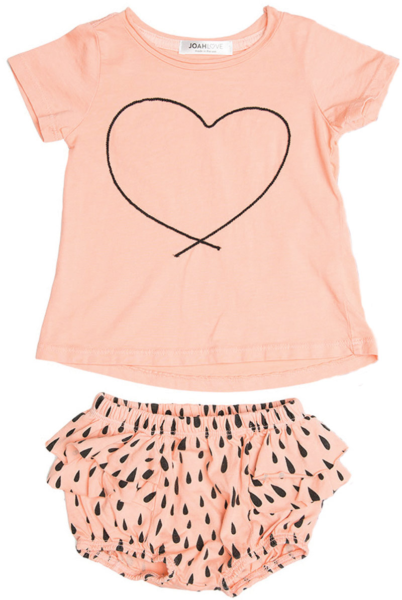Joah Love T-shirt and bloomers