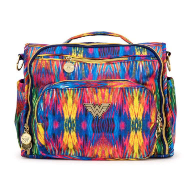 JuJuBe just released a Wonder Woman limited-edition print. Looks great on the B.F.F. bag!