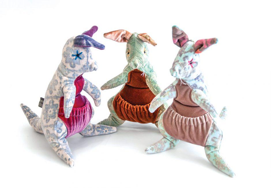 Kevin O'Brien Studio handmade kangaroos