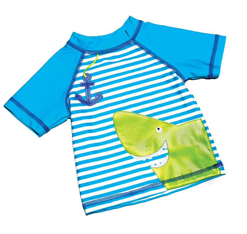 Little Me swim shirt