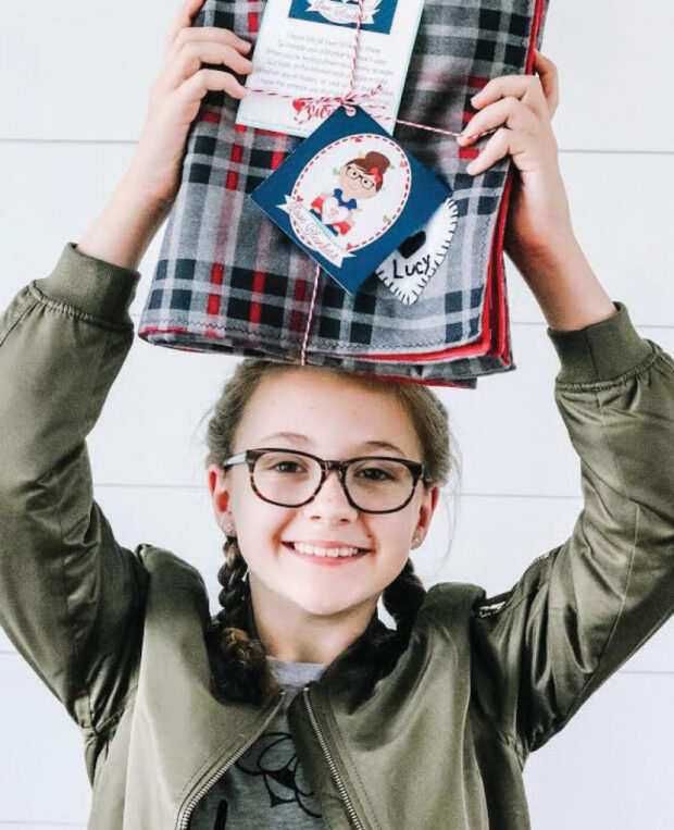 Lucy Blaylock, founder of nonprofit Lucy's Love Blankets