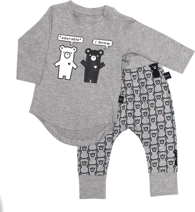Huxbaby shirt and pants