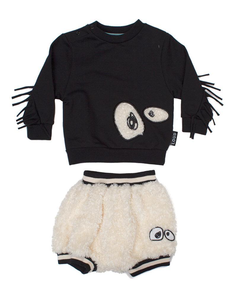Loud Apparel shirt and shorts