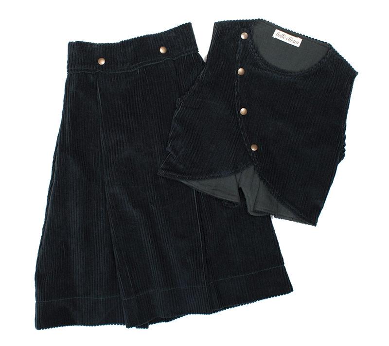 Belle Chiara top and midi skirt