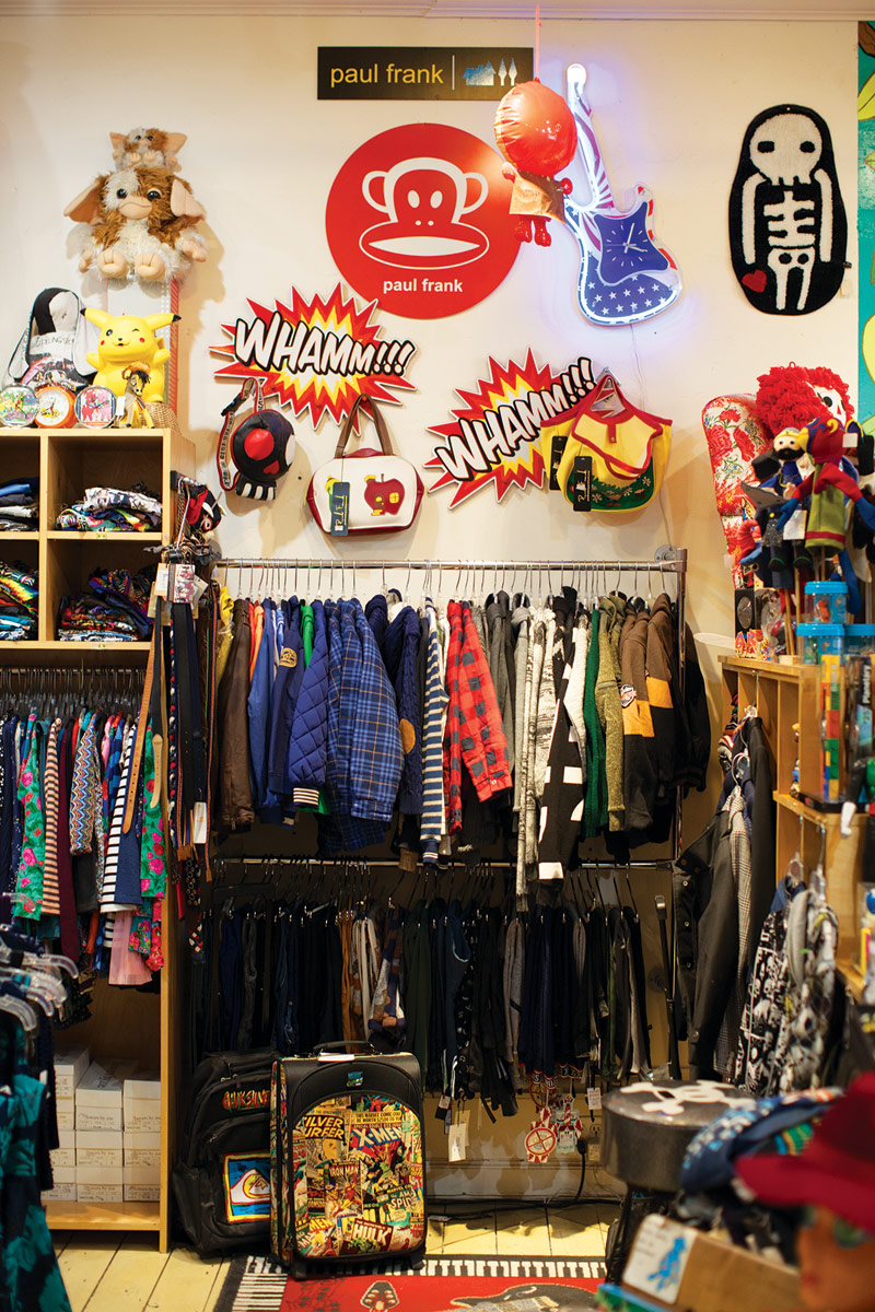 the Japanese-inspired approach Rodocy uses to merchandise the store.