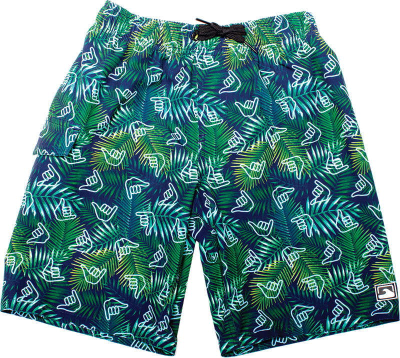 Coral & Reef swim trunks