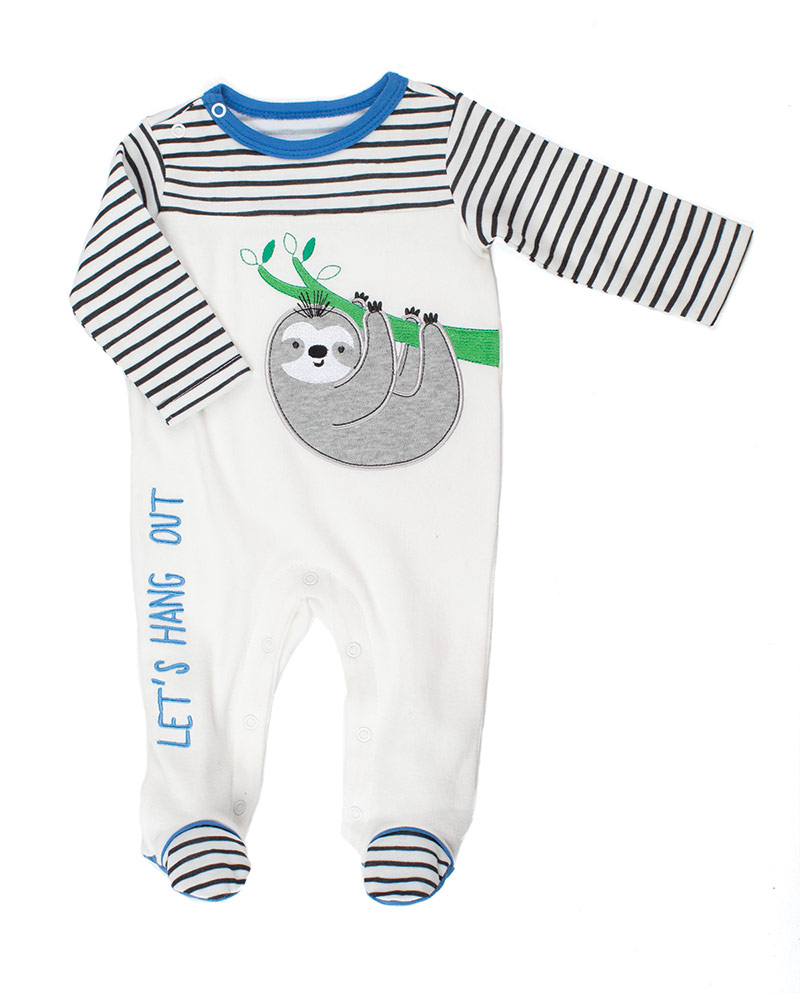 Baby Starters footed  one-piece