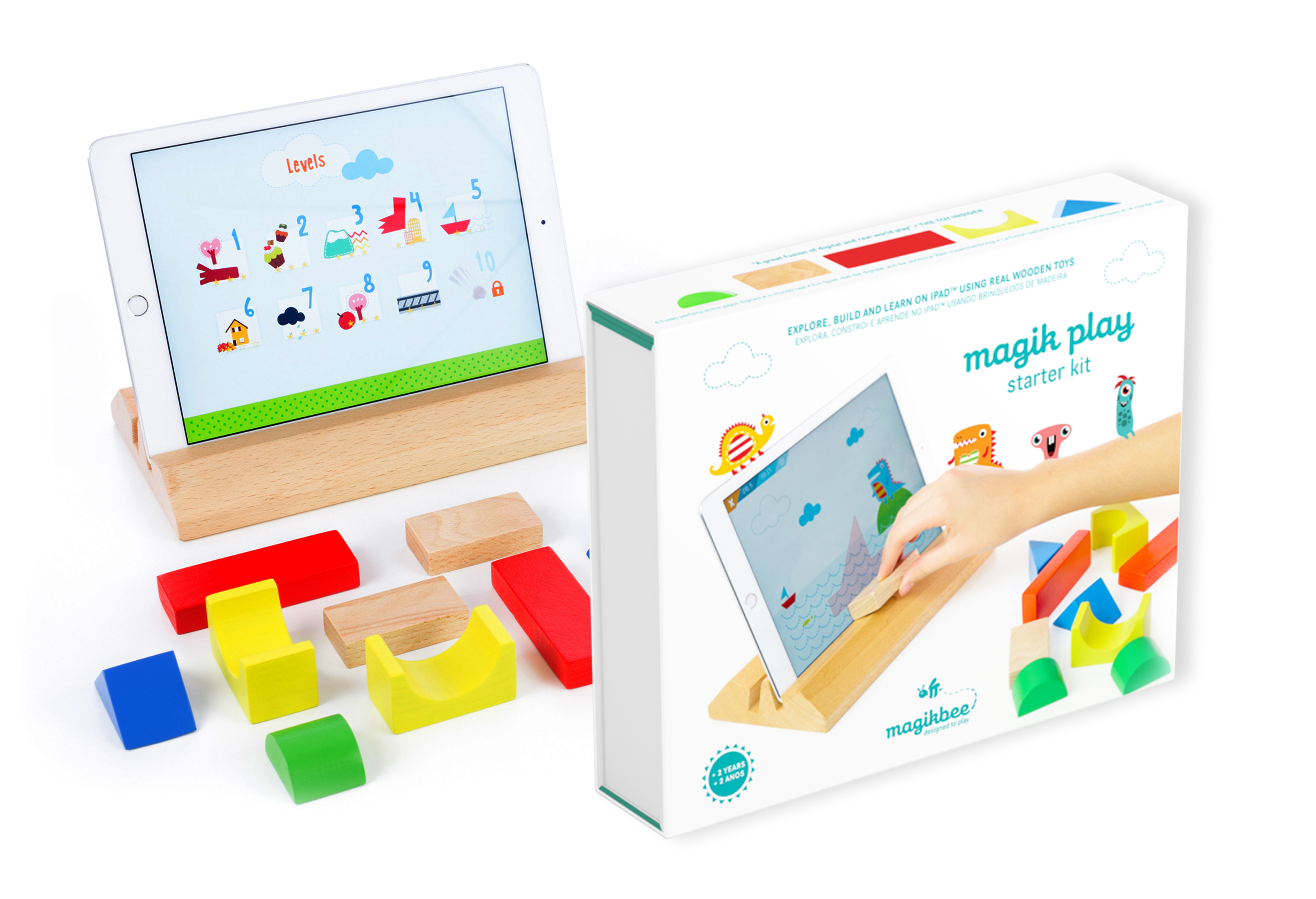 Magikbee mixes technological and traditional toys.