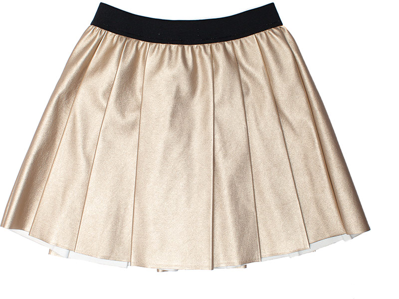 Minoti metallic skirt