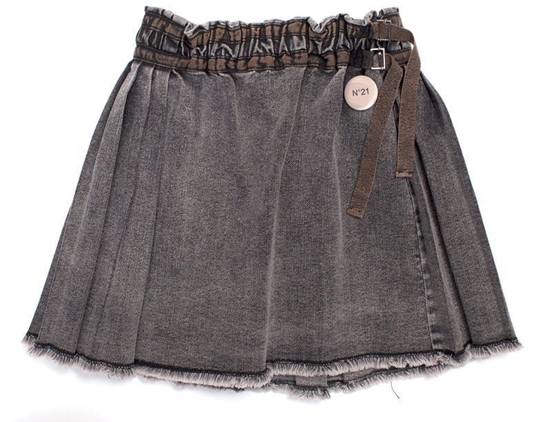N021 denim skirt