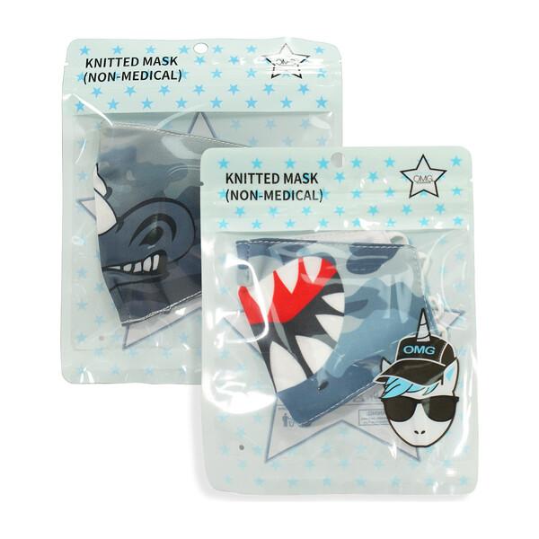 OMG Accessories shark and rhino masks