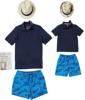 Joules men's and boys' outfit