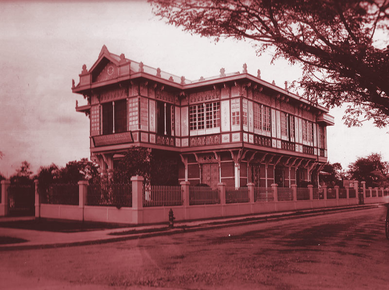 One of the company's early factories in the Philippines