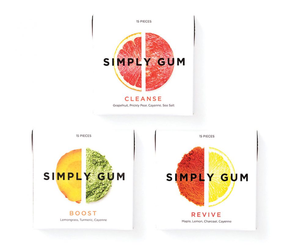 Simply Gum  all-natural chewing gum