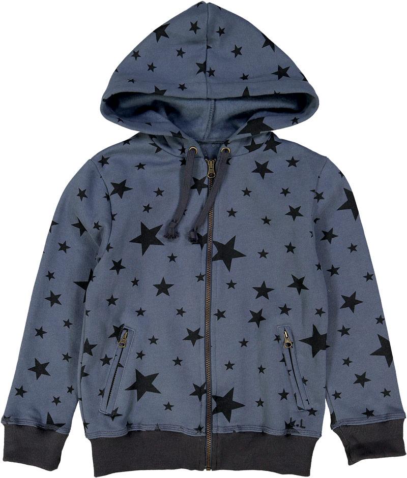 Louis Louise  zip-up sweatshirt