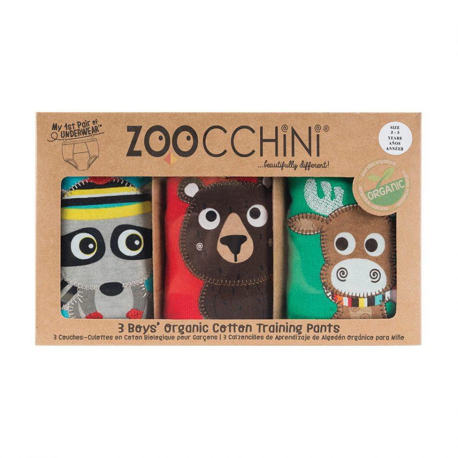 Zoocchini organic cotton training  underpants