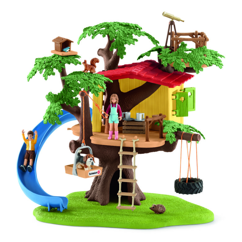 Schleich  treehouse play set