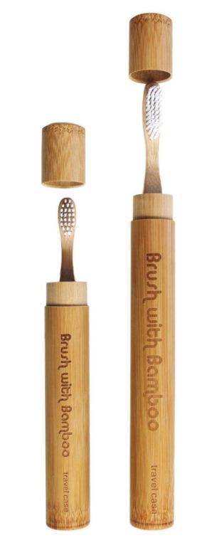 Brush with Bamboo travel toothbrushes