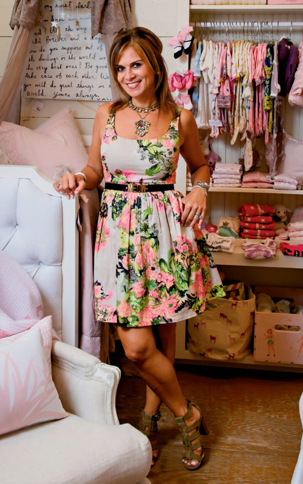Pam DiCapo can design and outfit your nursery.