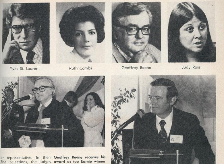 Earnie winner headshots  1978 , June issue