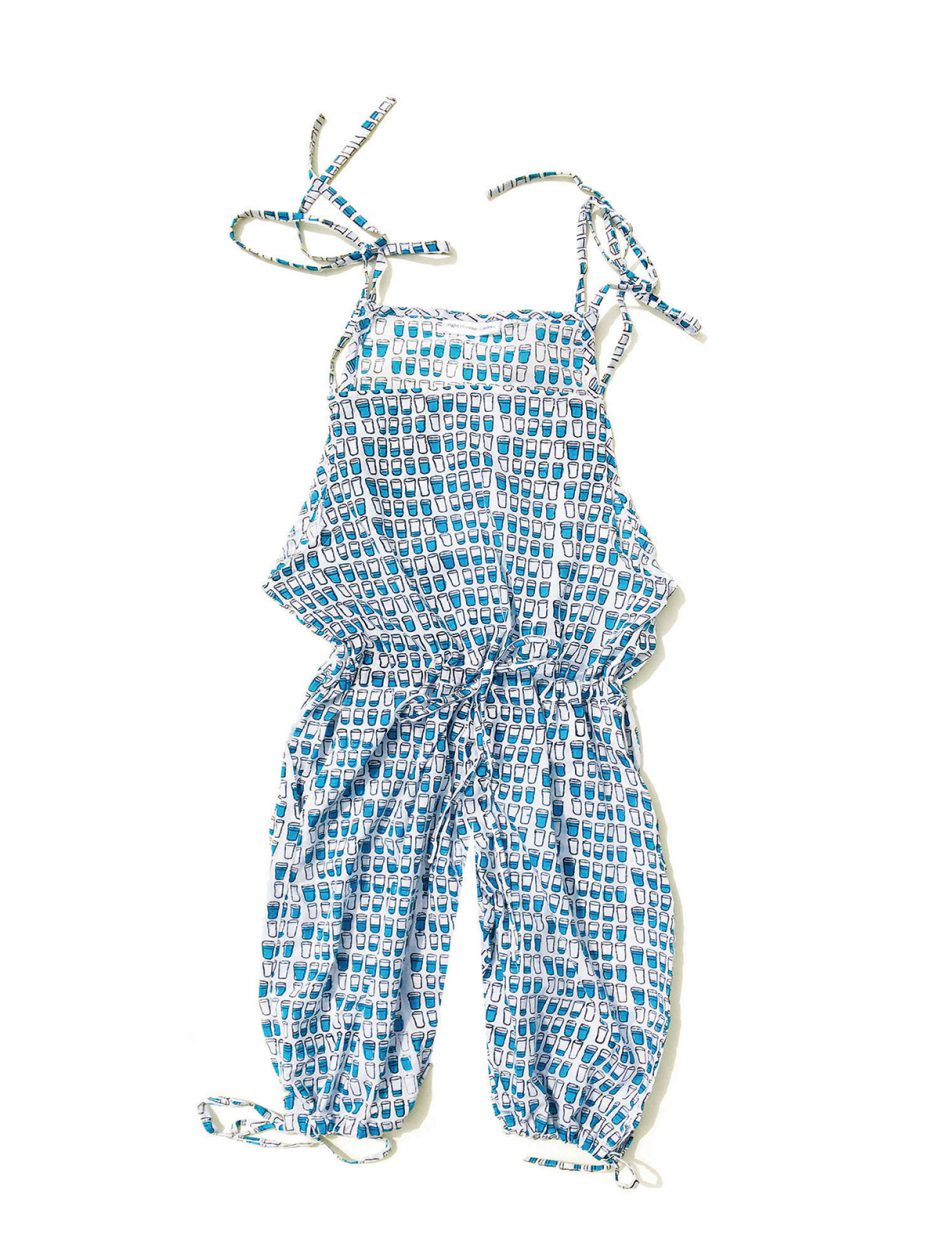 Eight  Thousand  Miles water glass  jumpsuit