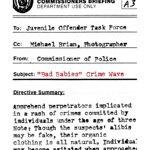 """Bab Babies"" Crime Wave"