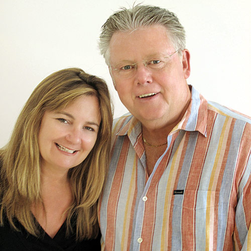 Kim Power and Peter Dunbar