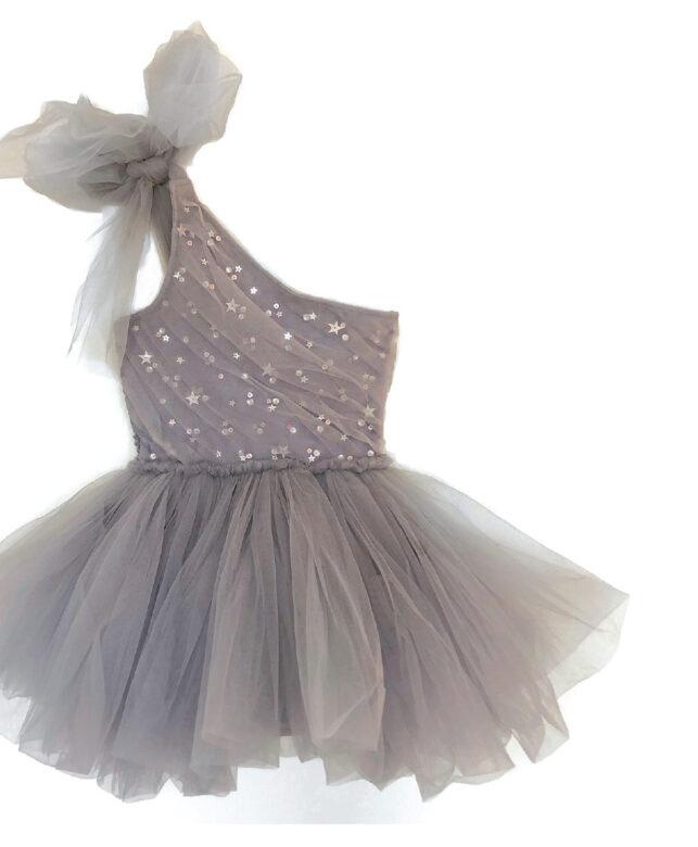 Marais Sky tulle dress