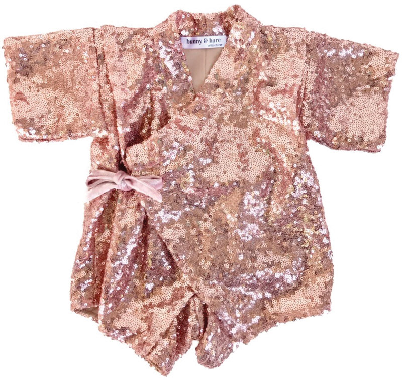 Bunny & Hare sequin one-piece