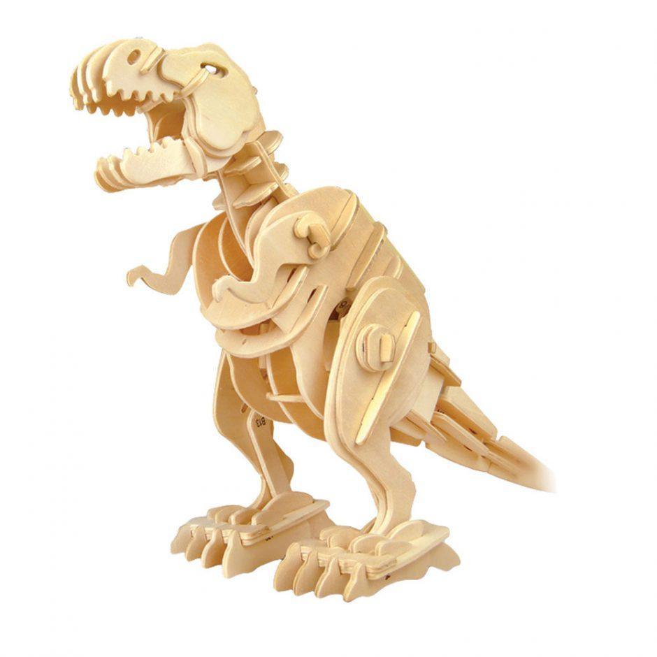 Magnote wooden dinosaur kit