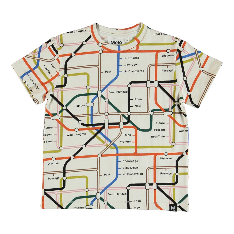 Molo map shirt