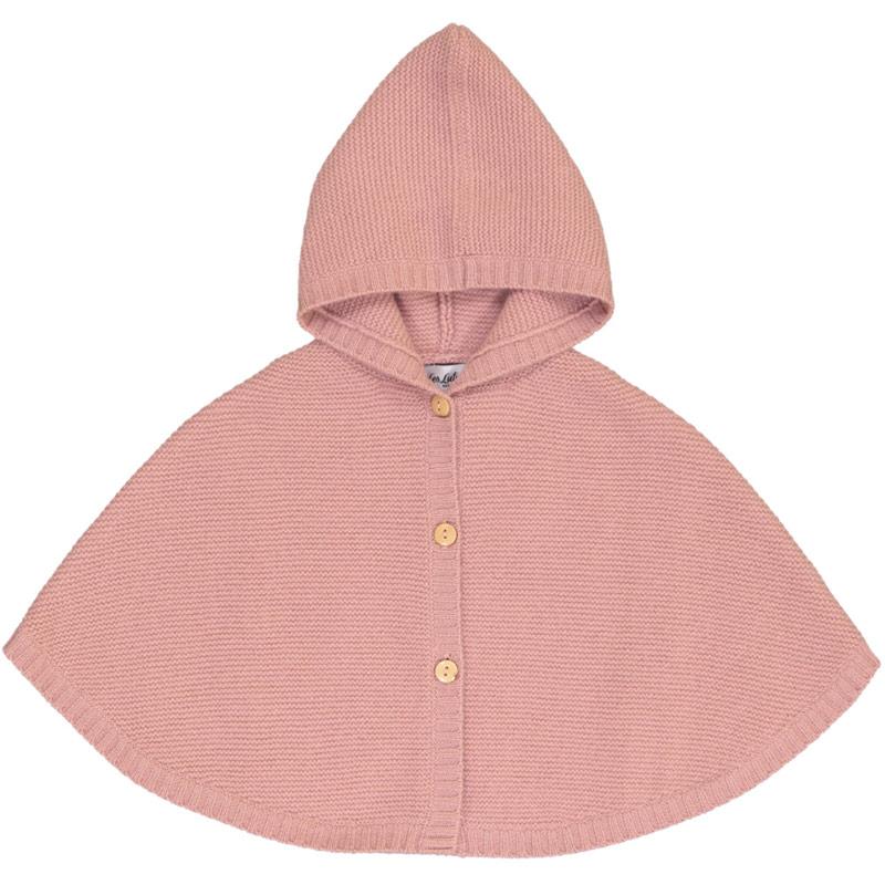 Les Lutins hooded poncho
